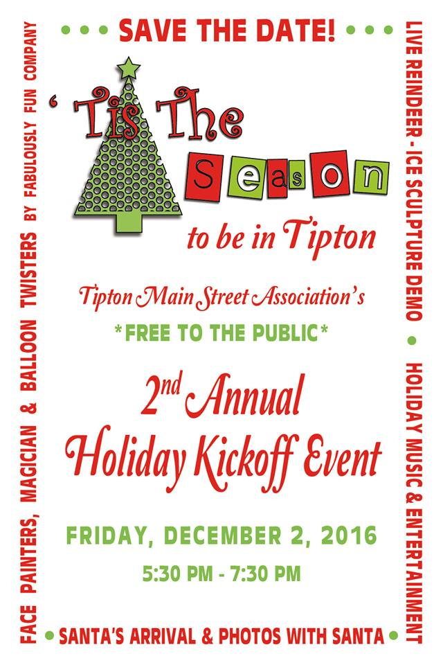 christmas party save the date tipton county library